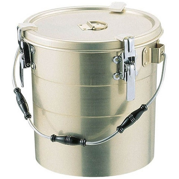 【送料無料】 オオイ金属 アルマイト 丸型二重クリップ付食缶 239 (12l) <ASY15239>