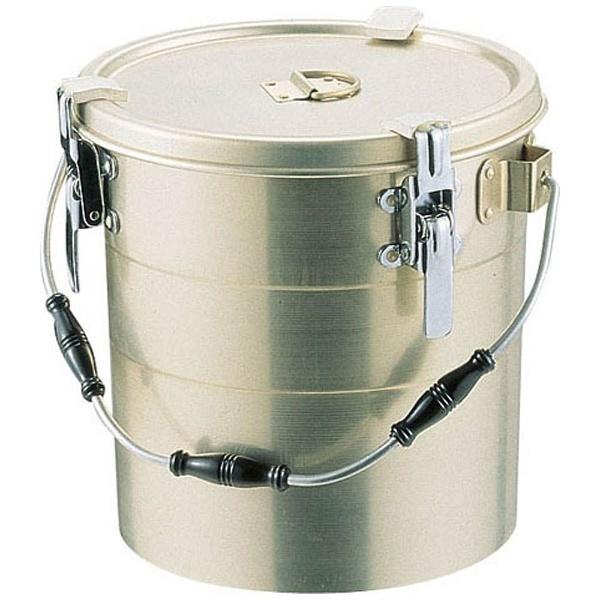 【送料無料】 オオイ金属 アルマイト 丸型二重クリップ付食缶 240 (14l) <ASY15240>