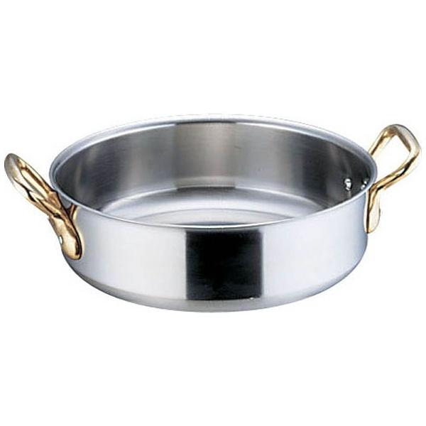 【送料無料】 本間製作所 IH対応 SAスーパーデンジ 外輪鍋(蓋無) 45cm <AST95045>