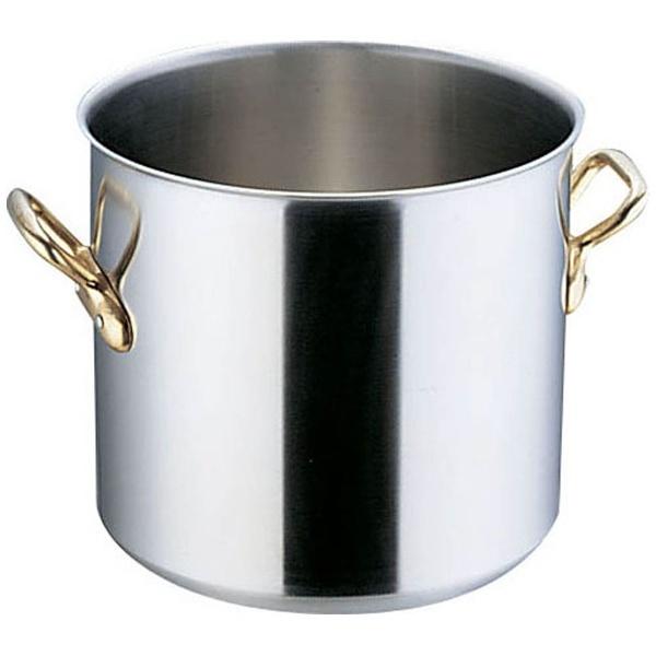 【送料無料】 本間製作所 エコクリーン スーパーデンジ 寸胴鍋 (蓋無) 27cm <AEK0103>