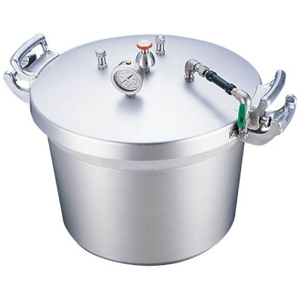 【送料無料】 遠藤商事 SAアルミ業務用圧力鍋(第2安全装置付) 40L <AAT15040>