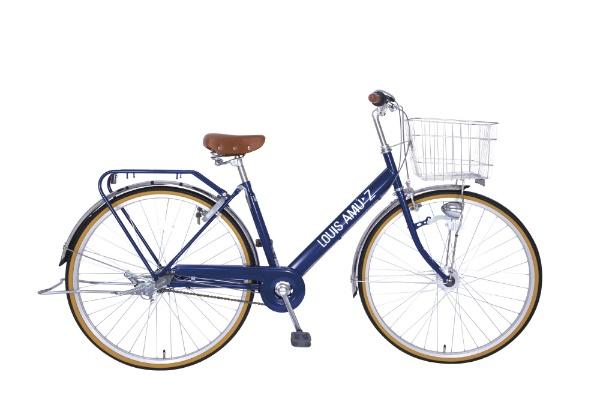 【送料無料】 タマコシ 27型 自転車 ルイスアミューズ273HD(ネイビー/内装3段変速)【組立商品につき返品不可】 【代金引換配送不可】