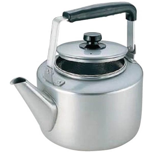 【送料無料】 アカオアルミ アカオ アルマイト 茶漉し付大型ケットル 8L <BKT46008>