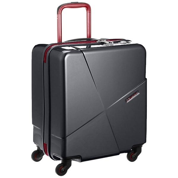 【送料無料】 協和 スーツケース マックスキャビン2(42L)8576171 ブラック 【メーカー直送・代金引換不可・時間指定・返品不可】