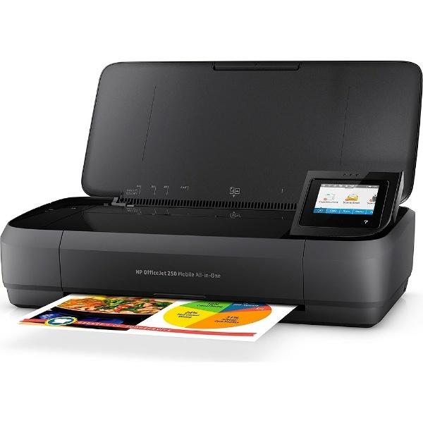 【送料無料】 HP ヒューレット・パッカード CZ992A#ABJ インクジェット複合機 OfficeJet 250 Mobile [L判~A4]