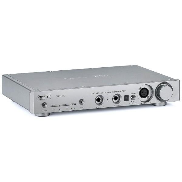 【送料無料】 QUESTYLE 【ハイレゾ音源対応】DAC内蔵ヘッドホンアンプ CMA600i(シルバー) CMA600i-S[CMA600IS]