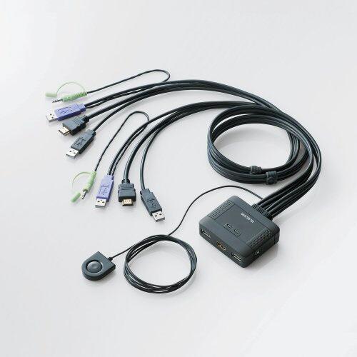【送料無料】 エレコム パソコン切替器 HDMI対応