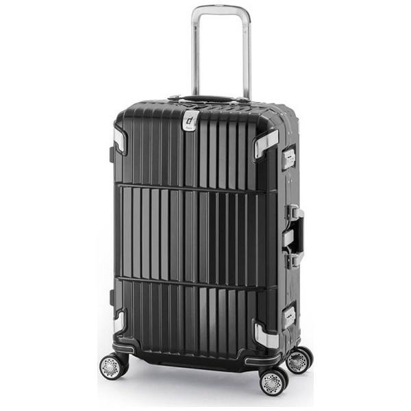 【送料無料】 A.L.I スーツケース(90L) HD-505-30.5 シャイニングブラック 【メーカー直送・代金引換不可・時間指定・返品不可】
