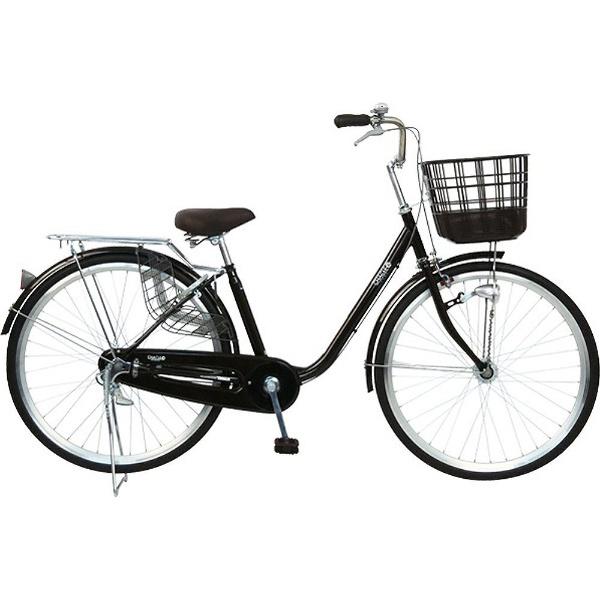 【送料無料】 チャクル 26型 ノーパンク自転車 CHACLE FASHION-U(ブラウン/シングルシフト) FP-CC26U-HD-BAA【組立商品につき返品不可】 【代金引換配送不可】【メーカー直送・代金引換不可・時間指定・返品不可】