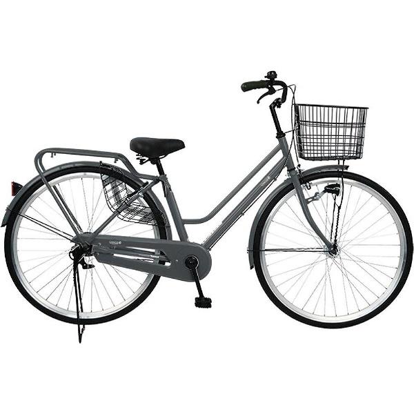 【送料無料】 チャクル 27型 ノーパンク自転車 CHACLE STANDARD-HD(ガンメタ/シングルシフト) FP-CC270W-HD-SP【組立商品につき返品不可】 【代金引換配送不可】【メーカー直送・代金引換不可・時間指定・返品不可】