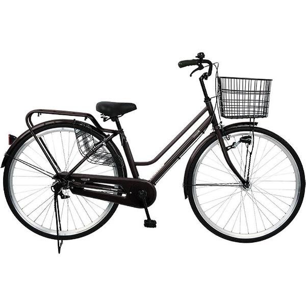 【送料無料】 チャクル 27型 ノーパンク自転車 CHACLE STANDARD-HD(ブラウン/シングルシフト) FP-CC270W-HD-SP【組立商品につき返品不可】 【代金引換配送不可】【メーカー直送・代金引換不可・時間指定・返品不可】