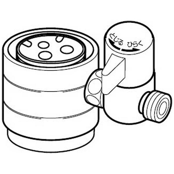 【送料無料】 ナニワ製作所 食器洗い乾燥機用 分岐水栓 NSJ-SKJ8[NSJSKJ8]
