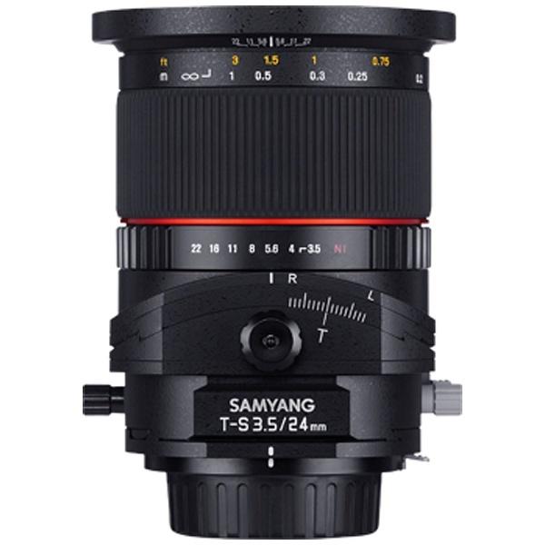 【送料無料】 SAMYANG カメラレンズ T-S 24mm F3.5 ED AS UMC TILT-SHIFT フルサイズ対応【ソニーA(α)マウント】[TS24MMF35ソニーアルファ]