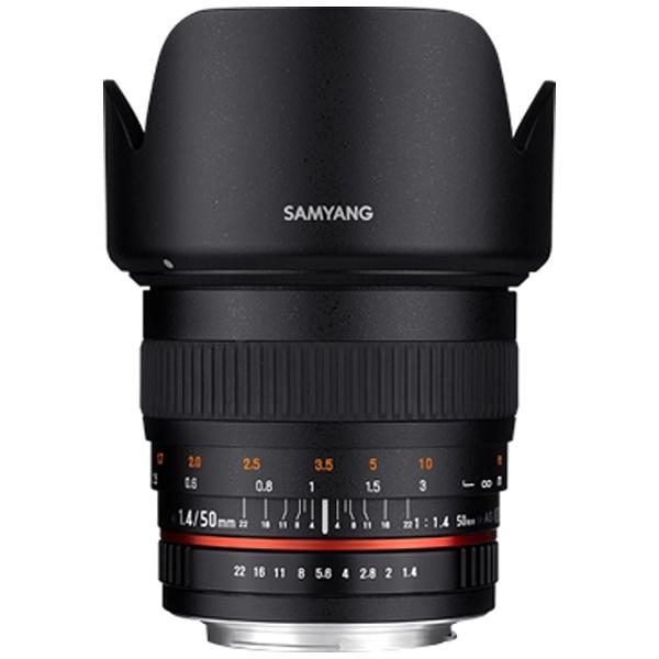 【送料無料】 SAMYANG カメラレンズ 50mm F1.4 AS UMC【マイクロフォーサーズマウント】