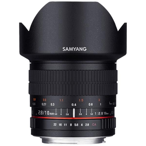 【送料無料】 SAMYANG 【10%OFFクーポン 8/4 18:00 ~ 8/5 23:59】カメラレンズ 10mm F2.8 ED AS NCS CS APS-C用【ペンタックスKマウント】[10MMF28CSペンタックス]