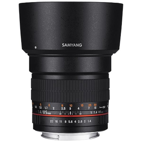 【送料無料】 SAMYANG カメラレンズ 85mmF1.4 AS IF UMC フルサイズ対応【ペンタックスKマウント】