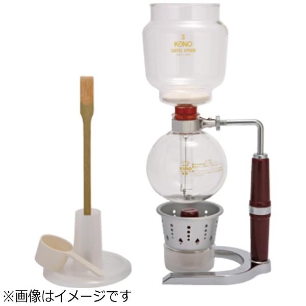 【送料無料】 KONO KONO NEW PR型コーヒーサイフォンセット(3人用) NEW-PR3-AP