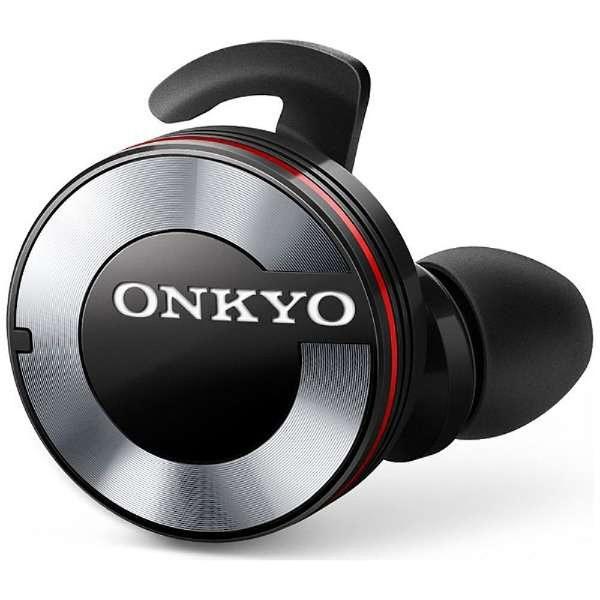 【送料無料】 オンキヨー ONKYO フルワイヤレスイヤホン W800BTB [左右分離タイプ /Bluetooth][o-ksale]