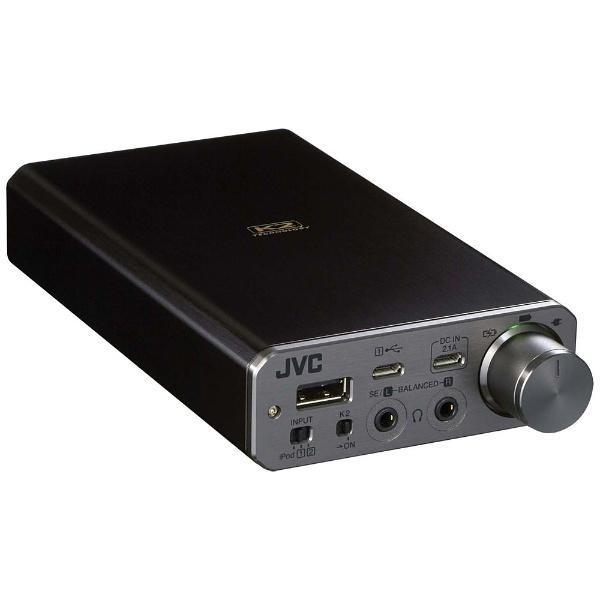 【送料無料】 JVC ジェイブイシー 【ハイレゾ音源対応】「ポータブルヘッドホンアンプ」 SU-AX01