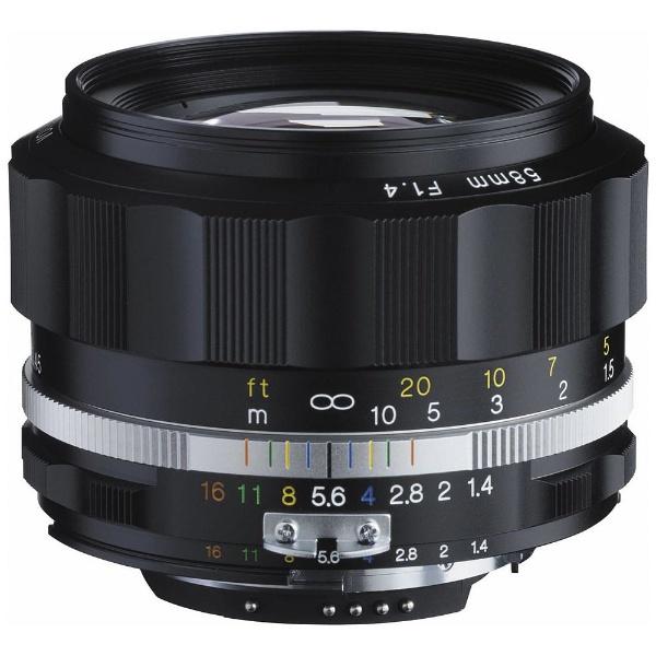 【送料無料】 フォクトレンダー カメラレンズ NOKTON 58mm F1.4 SL IIS(ブラックリム)(CPU付きニコンAi-sマウント)【ニコンFマウント】[NOKTON58F14SLIISブラッ]