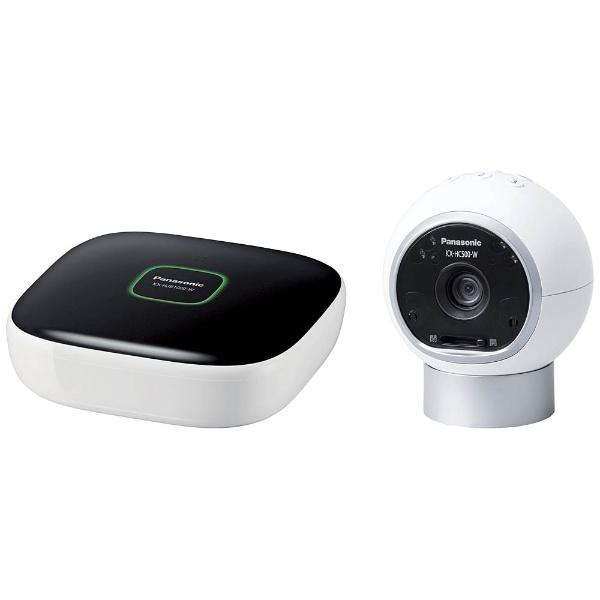 【送料無料】 パナソニック Panasonic ホームネットワークシステム 「スマ@ホーム システム」 おはなしカメラキット KX-HC500K-W[KXHC500KW] panasonic