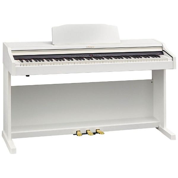 【標準設置費込み】 ローランド RP501R-WHS 電子ピアノ ホワイト [88鍵盤]