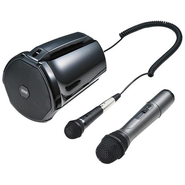 【送料無料】 サンワサプライ ワイヤレスマイク付き拡声器スピーカー MM-SPAMP3 【受発注・受注生産商品】