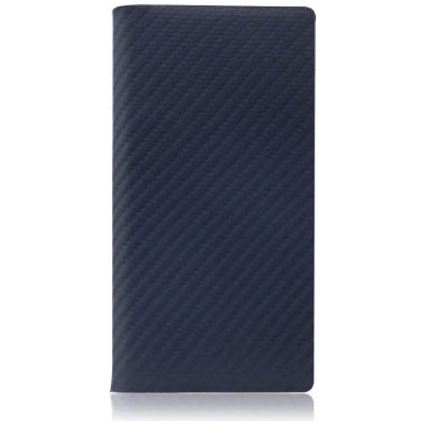 【送料無料】 ROA iPhone 7用 手帳型レザーケース Carbon Leather Case ネイビー SLG Design SD8094i7
