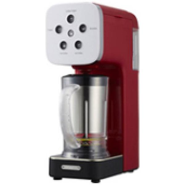 【送料無料】 ドウシシャ DOSHISHA QCR-85A-RD コーヒーメーカー SOLUNA Quattro Choice(クワトロチョイス)[QCR85A][kc-ksale]