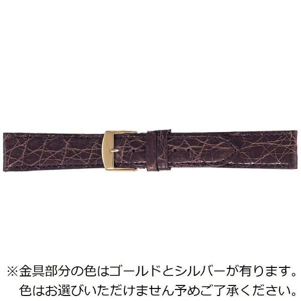 【送料無料】 バンビ エルセ カイマンクロコ 18mm(ダークブラウン)SW0001BP