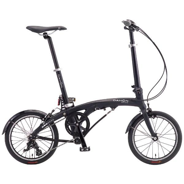 【送料無料】 DAHON 16型 折りたたみ自転車 DAHON EEZZ D3(マットブラック/3段変速)【2017年モデル】【組立商品につき返品不可】 【代金引換配送不可】【メーカー直送・代金引換不可・時間指定・返品不可】