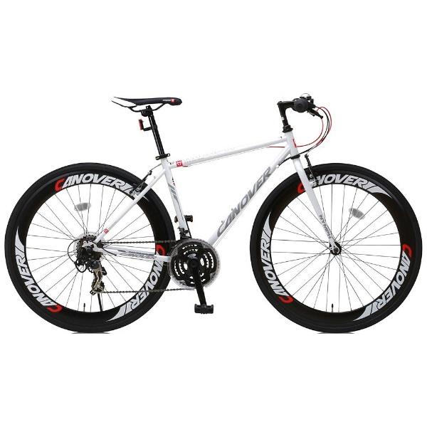 【送料無料】 オオトモ 700×28C型 クロスバイク CANOVER NYMPH(ホワイト/450サイズ《適応身長:155cm以上》) CAC-025【組立商品につき返品不可】 【代金引換配送不可】