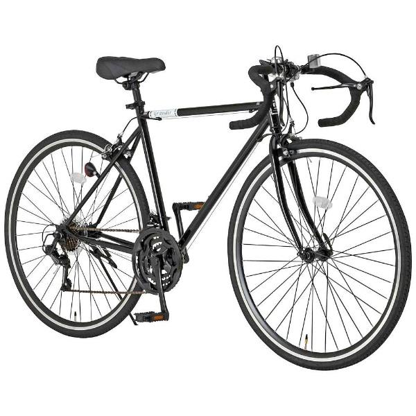 【送料無料】 オオトモ 700×28C型 ロードバイク Grandir Sensitive(ブラック/520サイズ《175cm以上》) 19250【組立商品につき返品不可】 【代金引換配送不可】
