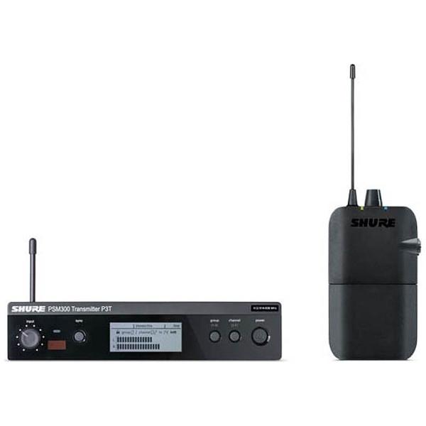 【送料無料】 シュアー(SHURE) インイヤーモニターシステム PSM300(イヤホンなし) P3TJR-JB