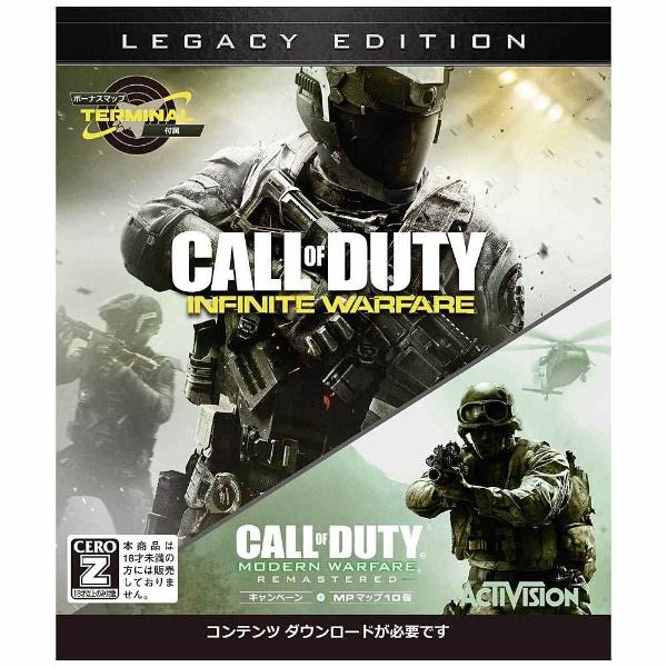 【送料無料】 マイクロソフト Microsoft コール オブ デューティ インフィニット・ウォーフェア レガシーエディション【Xbox Oneゲームソフト】