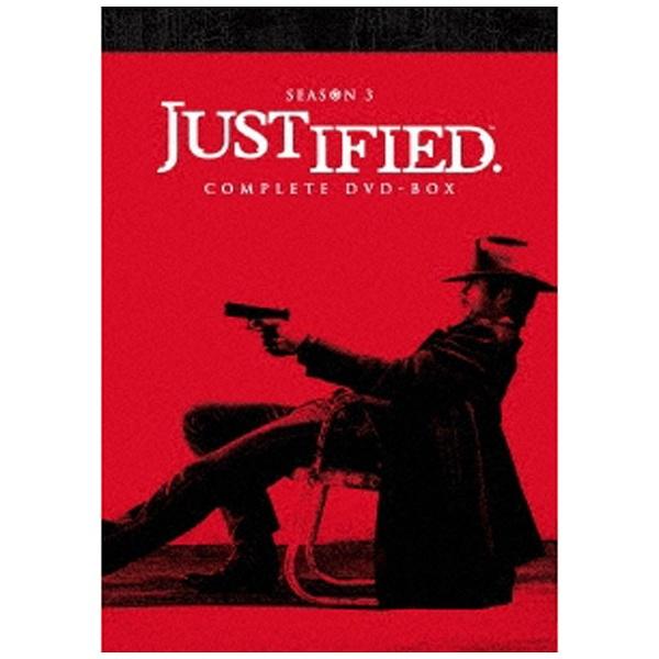 【送料無料】 ハピネット JUSTIFIED 俺の正義 シーズン3 コンプリートDVD-BOX 【DVD】