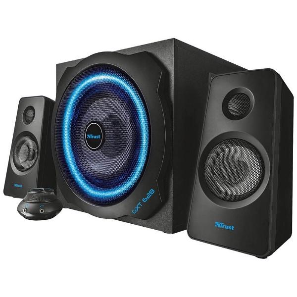 【送料無料】 トラスト PCスピーカーセット [φ3.5ミニプラグ] GXT 628 2.1 Illuminated Speaker Set Limited Edition 20562