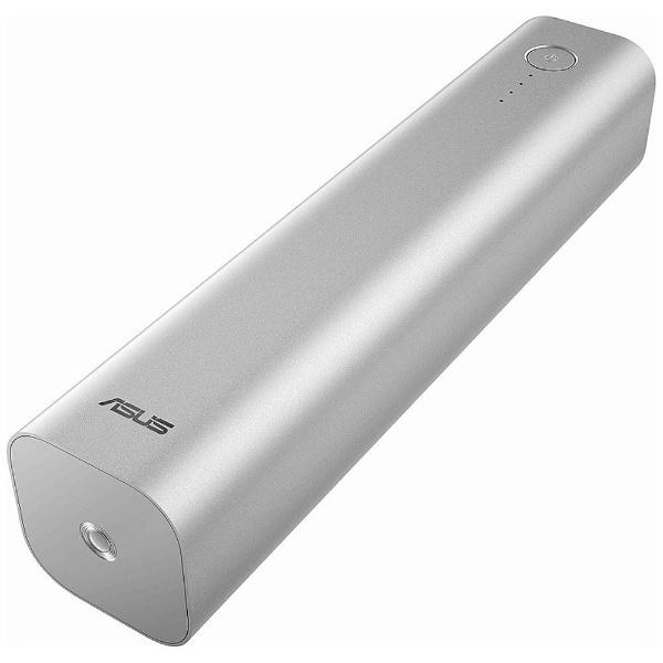 【送料無料】 ASUS エイスース タブレット/スマートフォン対応[micro USB/USB給電] USBモバイルバッテリー +micro USBケーブル 2.4A (26800mAh・3ポート・シルバー) ZenPower Max 90AC00U0-BBT006 [microUSB][s-ksale]