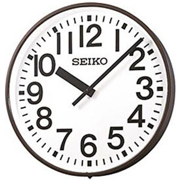 【送料無料】 セイコー 交流電源式FM電波掛け時計 「アウトドアクロック」 SFC703R