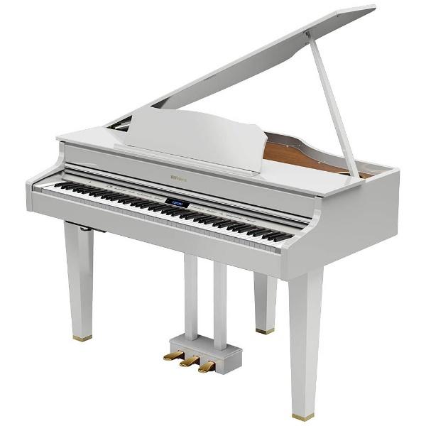 【標準設置費込み】 ローランド GP607-PWS 電子ピアノ 白塗鏡面艶出し塗装仕上げ [88鍵盤] 【代金引換配送不可】