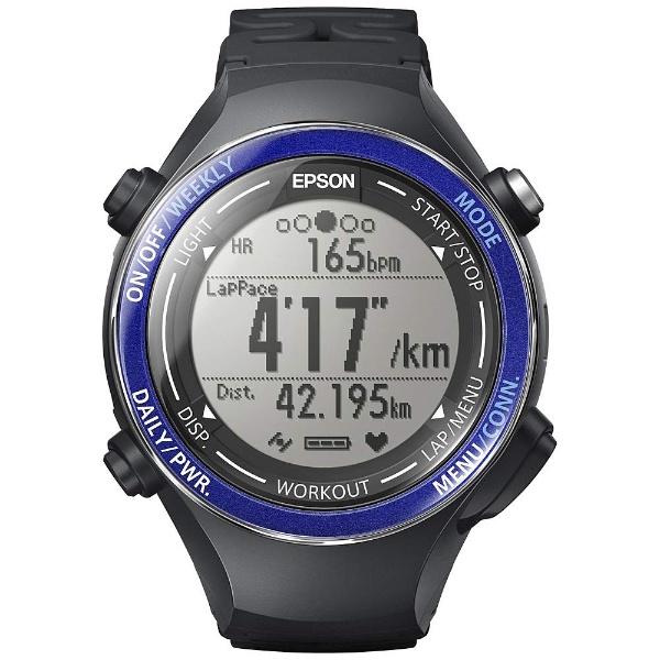 【送料無料】 エプソン EPSON GPS機能搭載ウオッチ 「WristableGPS」 SF-850PS スポーティングブルー