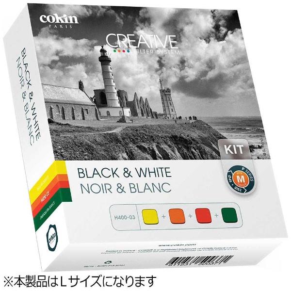 【送料無料】 コッキン クリエイティブフィルターシステム 4種白黒用キット Lサイズ(Z-PROシリーズ)U400-03[U400034B&Wキット]