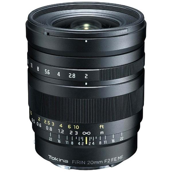 【送料無料】 トキナー カメラレンズ FiRIN 20mm F2 FE MF【ソニーEマウント】