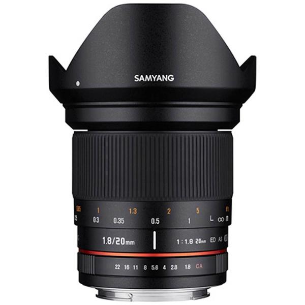 【送料無料】 SAMYANG カメラレンズ 20mm F1.8 ED AS UMC【FUJIFILM Xマウント】