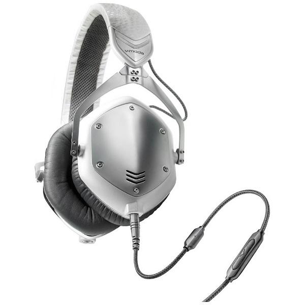 【送料無料】 VMODA ヘッドホン Crossfade M-100(WHITE SILVER) M-100U-WSILVER