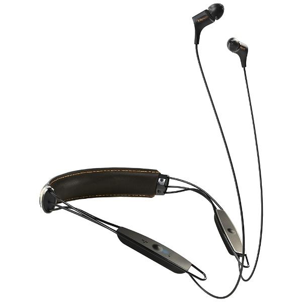 【送料無料】 クリプシュ(KLIPSCH) ブルートゥースイヤホン カナル型 革製ネックバンド R6 Bluetooth Neckband(ブラック) KLNBR60111