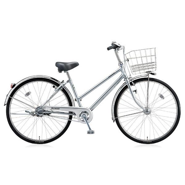 【送料無料】 ブリヂストン 26型 自転車 キャスロング デラックス チェーン・S型(M.ブリリアントシルバー/3段変速) CDS63P【2017年モデル】【組立商品につき返品不可】 【代金引換配送不可】