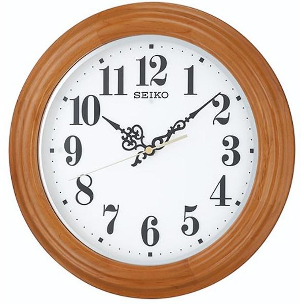 【送料無料】 セイコー 電波掛け時計 「全面点灯掛け時計」 KX228A