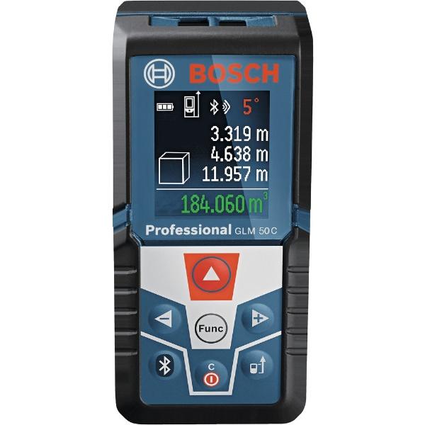 【送料無料】 BOSCH ボッシュ ボッシュ データ転送レーザー距離計 GLM50C