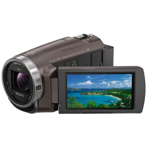 【送料無料】 ソニー SONY メモリースティックマイクロ/マイクロSD対応 64GBメモリー内蔵 フルハイビジョンビデオカメラ(ブロンズブラウン) HDR-PJ680(TI)[HDRPJ680TI]